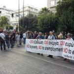 Nein zur Armut, zur Arbeitslosigkeit, zum Euro