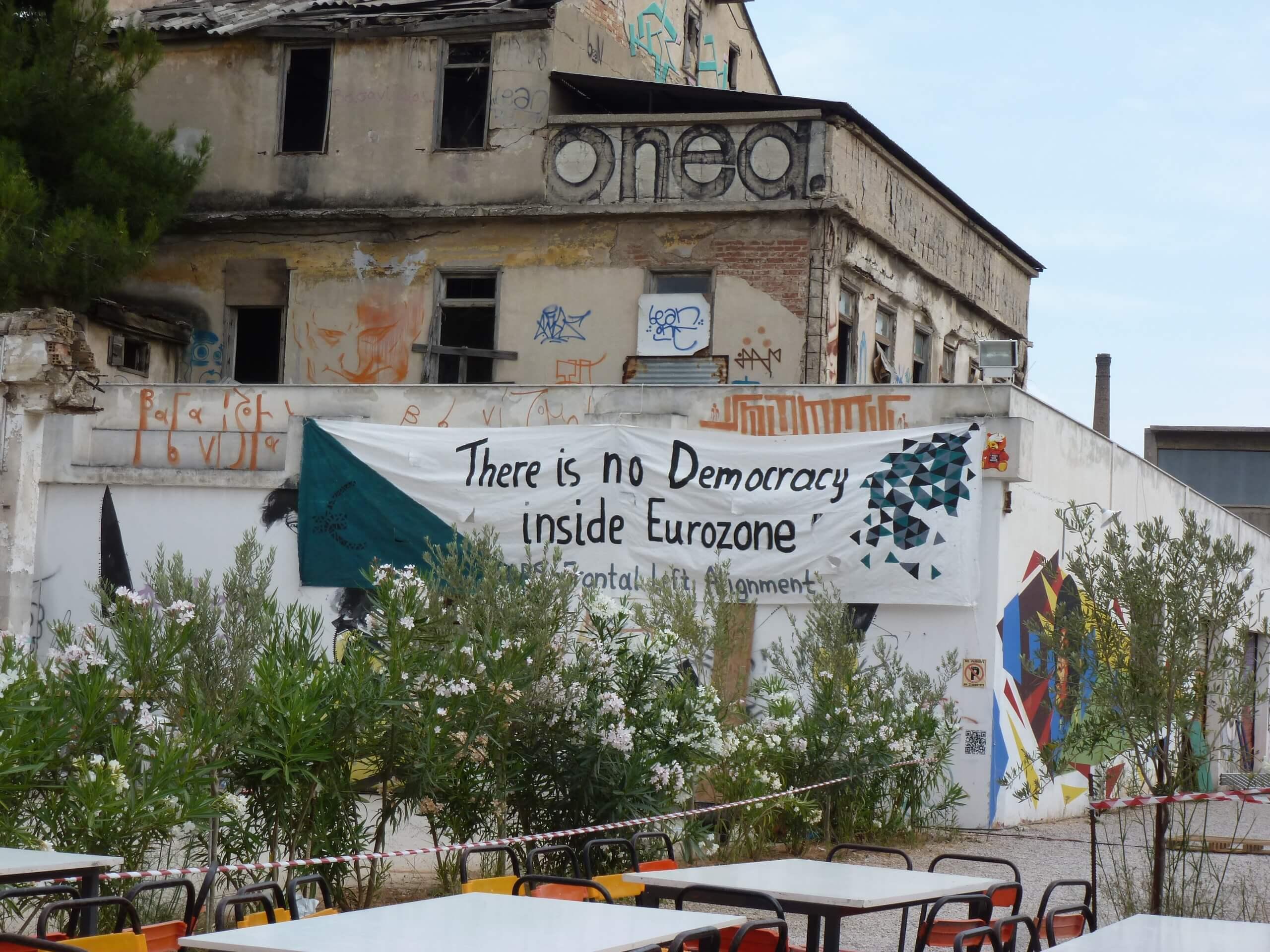 Keine Demokratie in der Eurozone