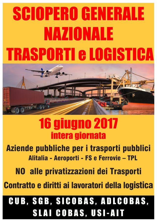 Italien: Generalstreik des Transportwesens