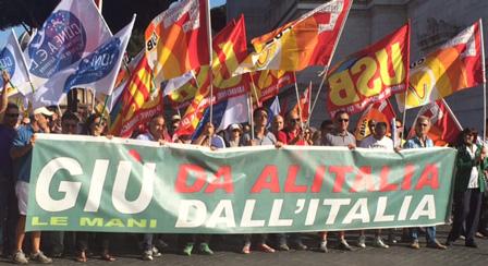 Petition: Alitalia gehört den Italienern