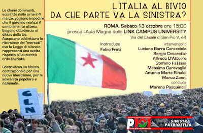 Italien am Scheideweg: wohin geht die Linke?