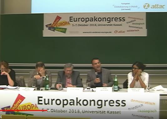 Lapavitsas in Kassel gegen Euro und EU