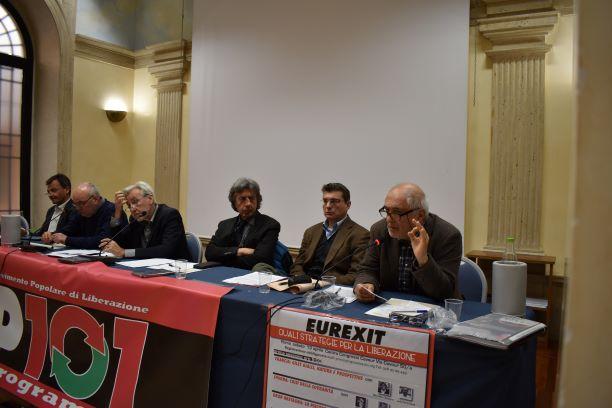 Linke Eurogegner versammeln sich in Rom