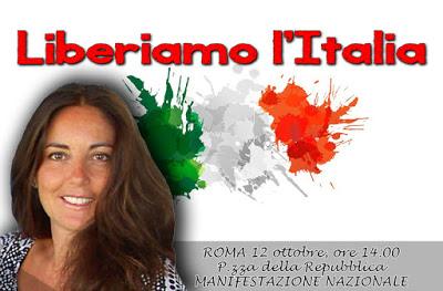 Erste Linkssouveränisten-Demo in Italien