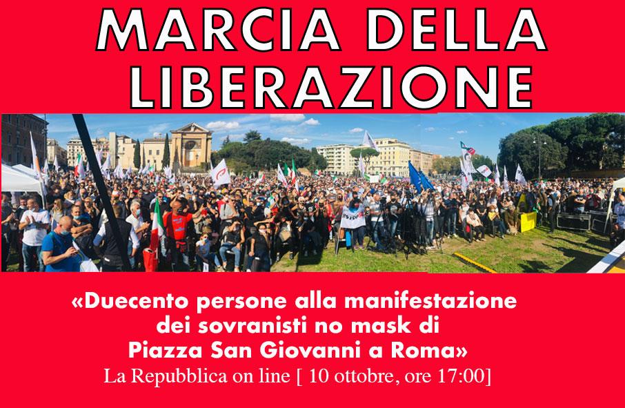 Marcia della Liberazione – Italexit am Wachsen